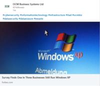 Windows XP still in use!